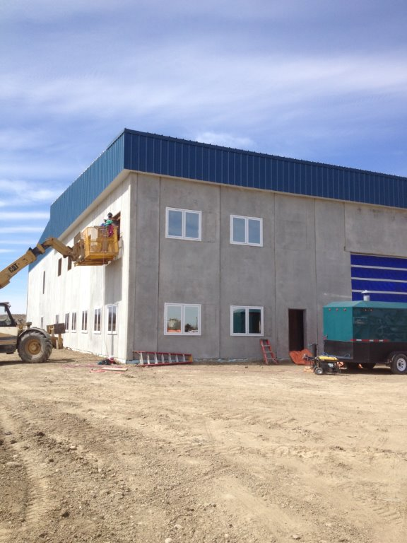Insulated Precast Panels Building